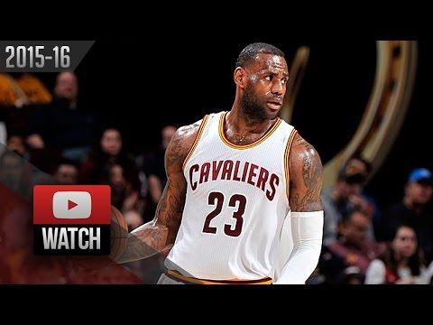 LeBron James Triple-Double Highlights vs Kings (2016.02.08) - 21 Pts, 10 Ast, 10 Reb