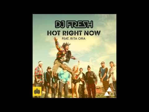 DJ Fresh Hot Right Now (Radio Edit) HD