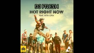 DJ Fresh Hot Right Now (Radio Edit) HD