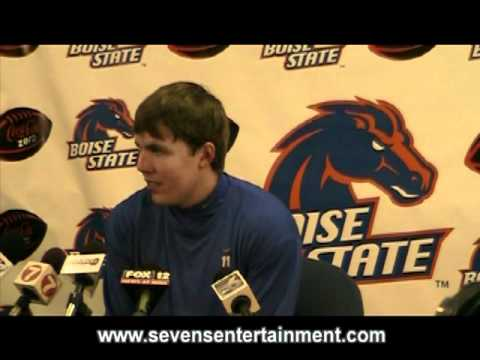 Kellen Moore post game at Boise State University