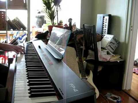 Zelda piano Mario piano Medley - part 1