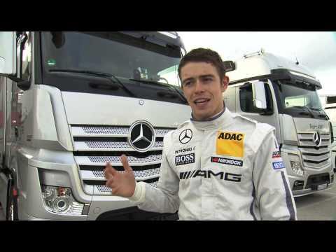 Paul di Resta im Interview (englisch) (c)Mercedes