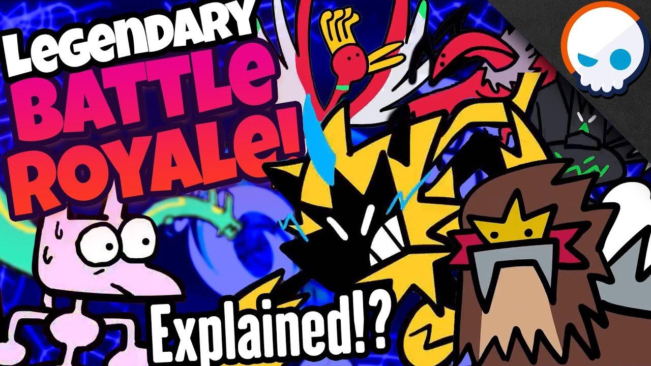 Erkläre ein LEGENDÄRES Pokémon Battle Royale! | Gnoggin X TerminalMontage + video