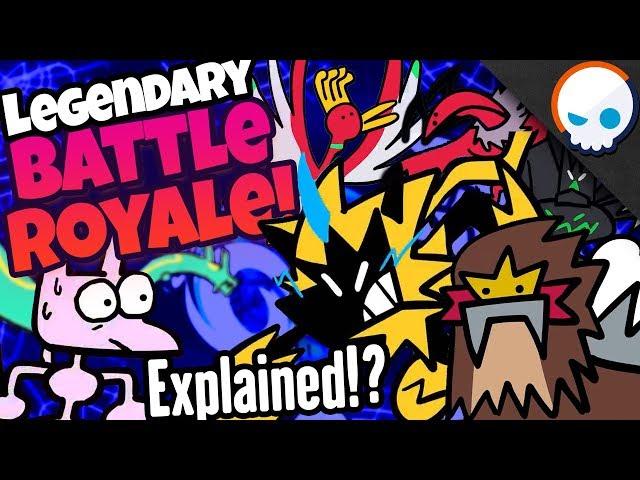 Explaining a LEGENDARY Pokemon Battle Royale! | Gnoggin X TerminalMontage