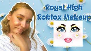 Attempting Royal High Roblox Makeup 4