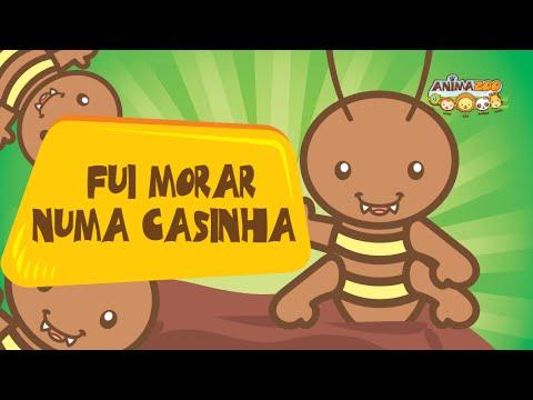 Cancoes Infantis Animazoo Fui Morar Numa Casinha Youtube