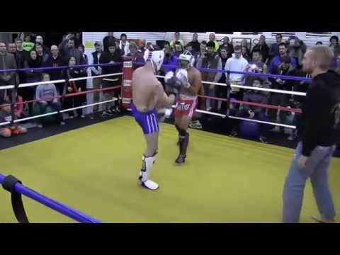 MKG Seattle Muay Thai Exhibition Fight November 2014