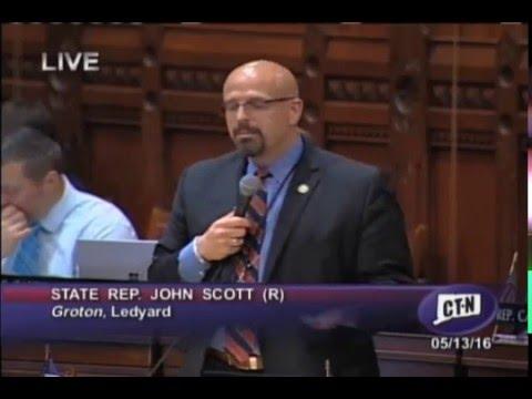 Rep. Scott speaks against employer mandates
