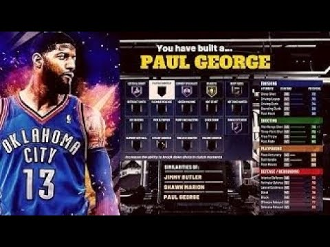 NBA 2K20 BEST PAUL GEORGE ALL AROUND SMALL FORWARD BUILD AND NEW 2K20 NEWS!