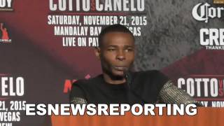 Guillermo Rigondeaux shoots his opponant during press conference - EsNews Boxing