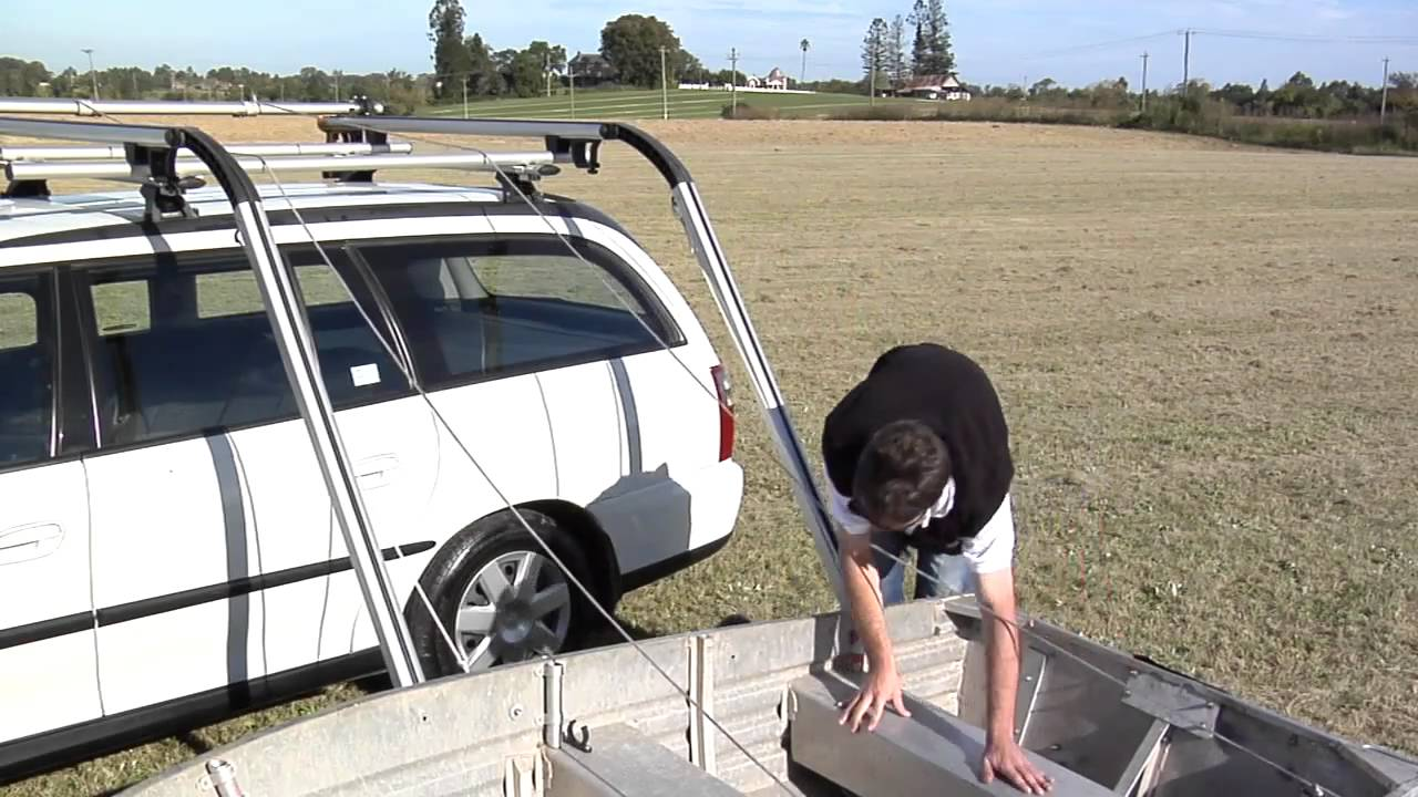 Rhino Rack Side Boat Loader How It Works Youtube