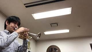 Queen of the night Aria (piccolo trumpet) 夜の女王のアリア(ピッコロトランペット)