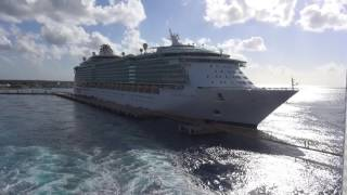 Celebrity Reflection Cozumel sail away | CAL