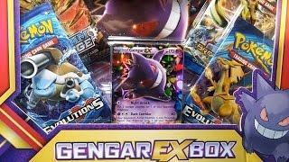 POKEMON TCG GENGAR EX BOX OPENING - POKEMON UNWRAPPED OT