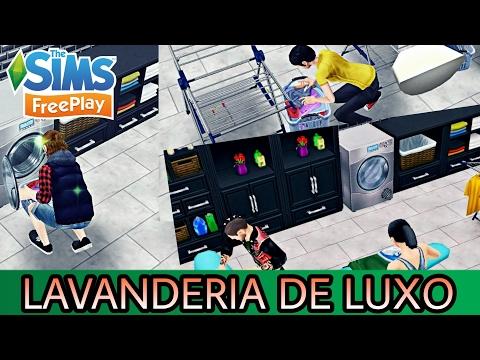 📱🏡 The Sims Freeplay - LAVANDERIA DE LUXO