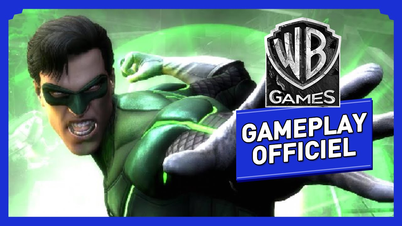 injustice les dieux sont parmi nous gameplay officiel quot green lantern quot