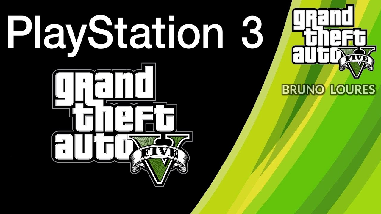 MOD MENU GTA V PS3 TRAVADO + LINK (BLUS & BLES)