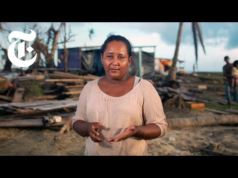 How Climate Change Has Upended a Nicaraguan Town's Way of Life | NYT News