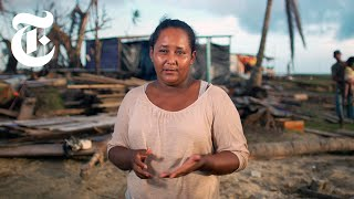How Climate Change Has Upended a Nicaraguan Town's Way of Life   NYT News