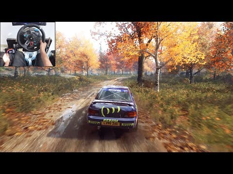 Subaru Impreza - Dirt Rally 2.0 | Logitech G29 Gameplay