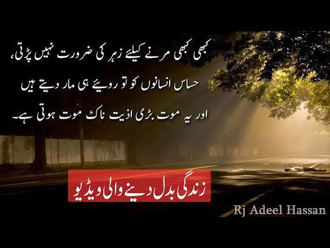 Ameezing urdu quotes about life | Adeel Hassan