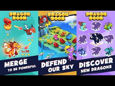 Dragon Boom - Offline Merge Game Android Gameplay