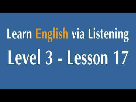 Learn English via Listening Level 3 - Lesson 17 - Violence on Television