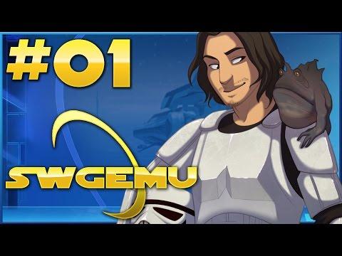 Star Wars Galaxies Emulator (SWGEmu) Gameplay | Creature Handler | Part 1