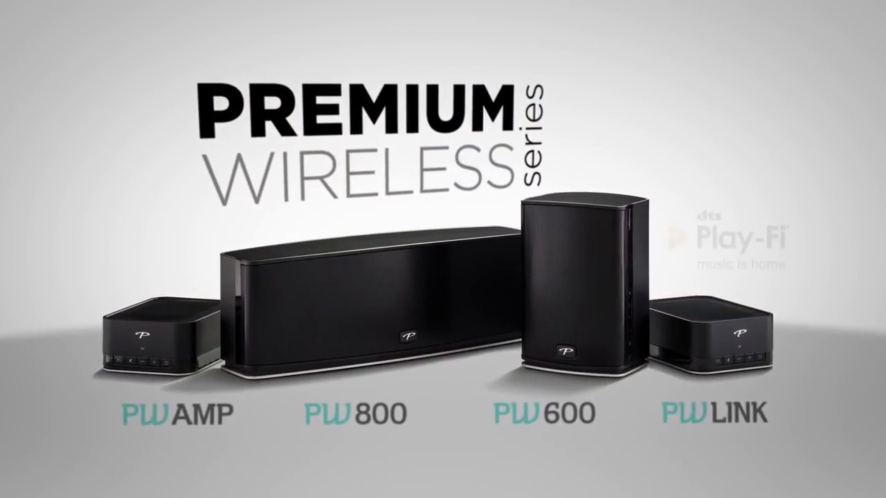Wireless Speakers from Paradigm Whole House Music with DTS Play Fi ...