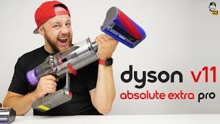 🚀 Dyson V11 Absolute Extra Pro Unboxing: Nejvýkonnější aku vysavač na světě! | WRTECH [4K]