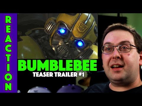 REACTION! Bumblebee Teaser Trailer #1 - Transformers Spin Off Movie 2018