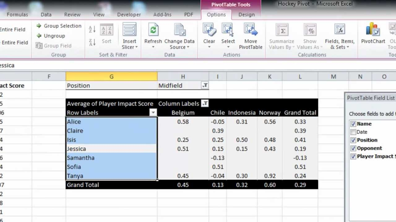 EAF #15 - Excel 2010 Pivot Table and Slicer Quick Tutorial - YouTube