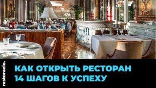Как открыть ресторан   Restoracio