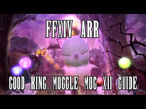 FFXIV ARR: Good King Moggle Mog XII (Hard) Strategy & Guide