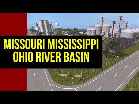 MISSOURI MISSISSIPPI OHIO RIVER BASIN V1.0 || Map Review