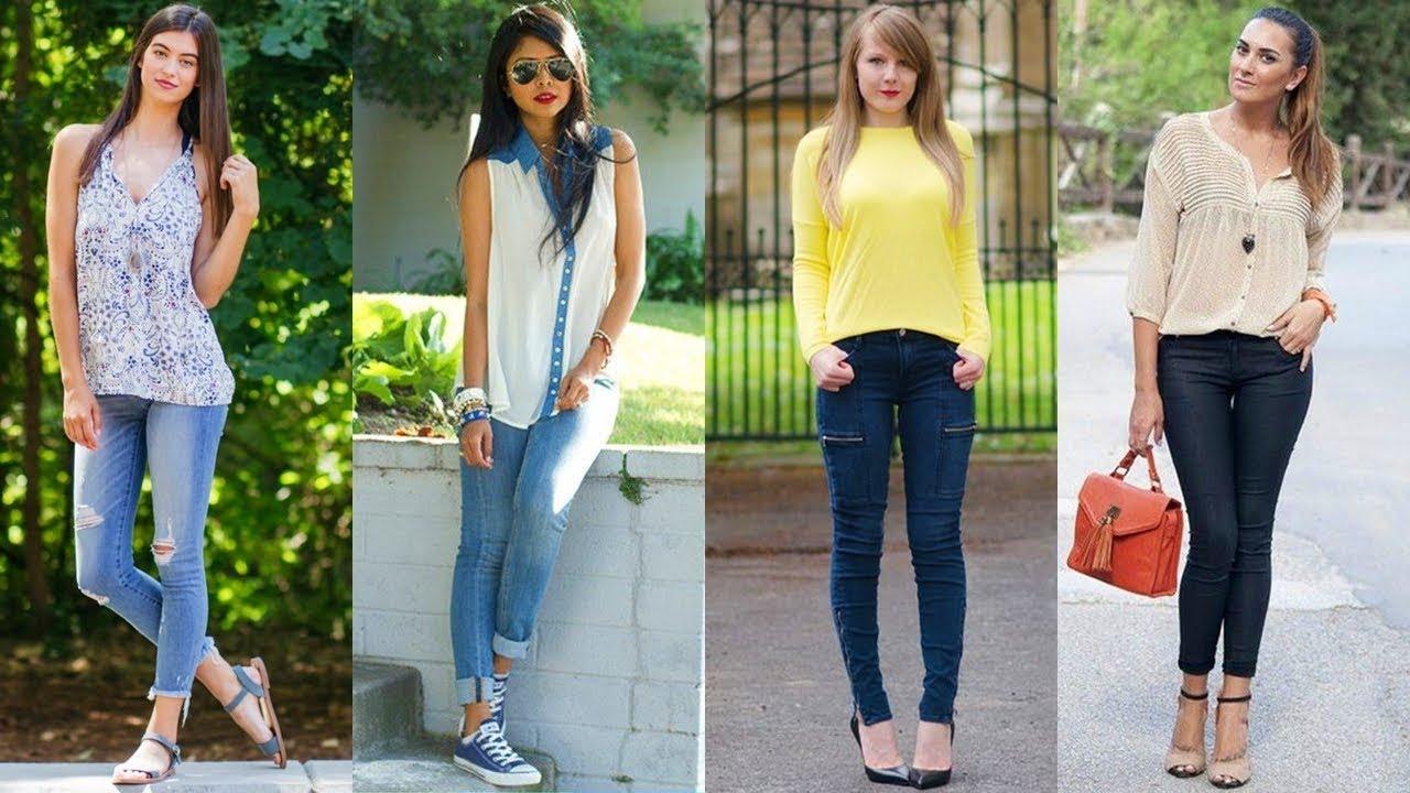 Lindos Y Comodos Jeans De Moda Ropa Juvenil 2018 Youtube