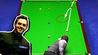 SUPER SHOTS!!! Ronnie's GENIUS Breaks! Compilation ᴴᴰ