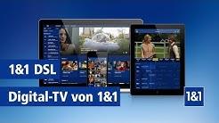 1&1 Digital-TV: Modernes TV-Entertainment mit Ihrem 1&1 DSL-Anschluss