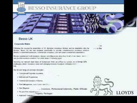 Besso is the largest specialist aviation insurance broker in the UK