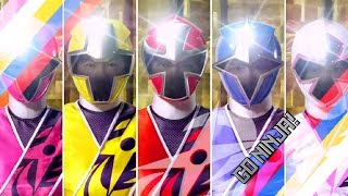 Power Rangers Shinobi/Ninja Steel Fan-Opening (Ninninger)