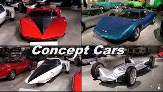 Concept Cars that put today