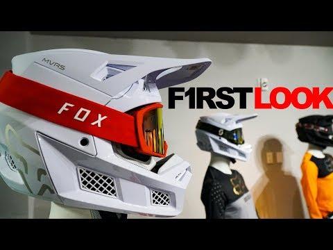 First Look: 2019 Fox V3 Helmet