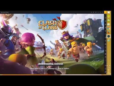 Jugar Clash Of Clans De PC/Emulador Nox/Full Español