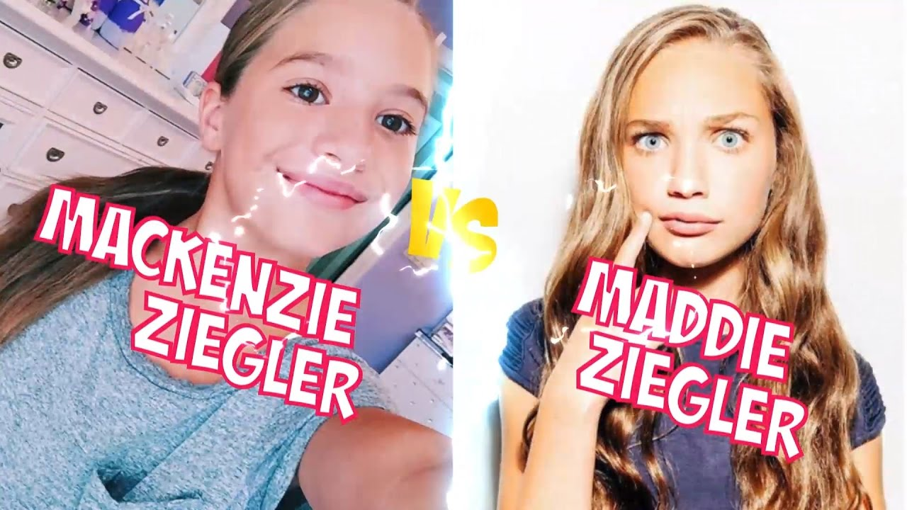 Maddie Ziegler and Mackenzie Using Turn Board To Turn: Who Is Better?