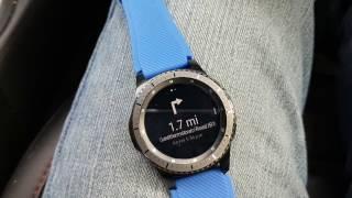 Samsung Gear S3 GPS Navigation Update 2