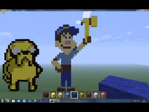 Minecraft - Felix Jr. (Pixel Arts #8)