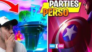 ▶️PARTIE PERSO | NOUVEAUX REVETEMENT ????CHALEUR???? DANS LA BOUTIQUE  ????|✔️LIVE FORTNITE