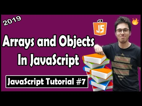 Arrays and Objects In JavaScript | JavaScript Tutorial In Hindi #7 thumbnail