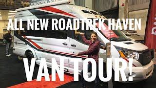 The All New 2019  Roadtrek Haven On The Ford Transit!  Full Time Van Life.