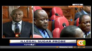 Agriculture CS Kiunjuri grilled by MPS